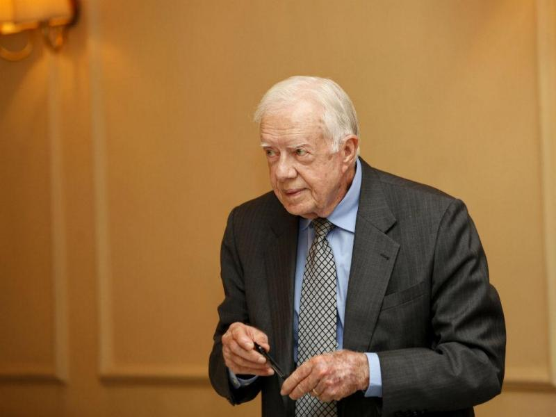 Jimmy Carter (Lusa/EPA)