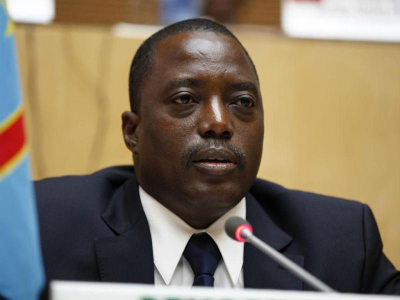 5 - Joseph Kabila, Presidente da República Democrática do Congo