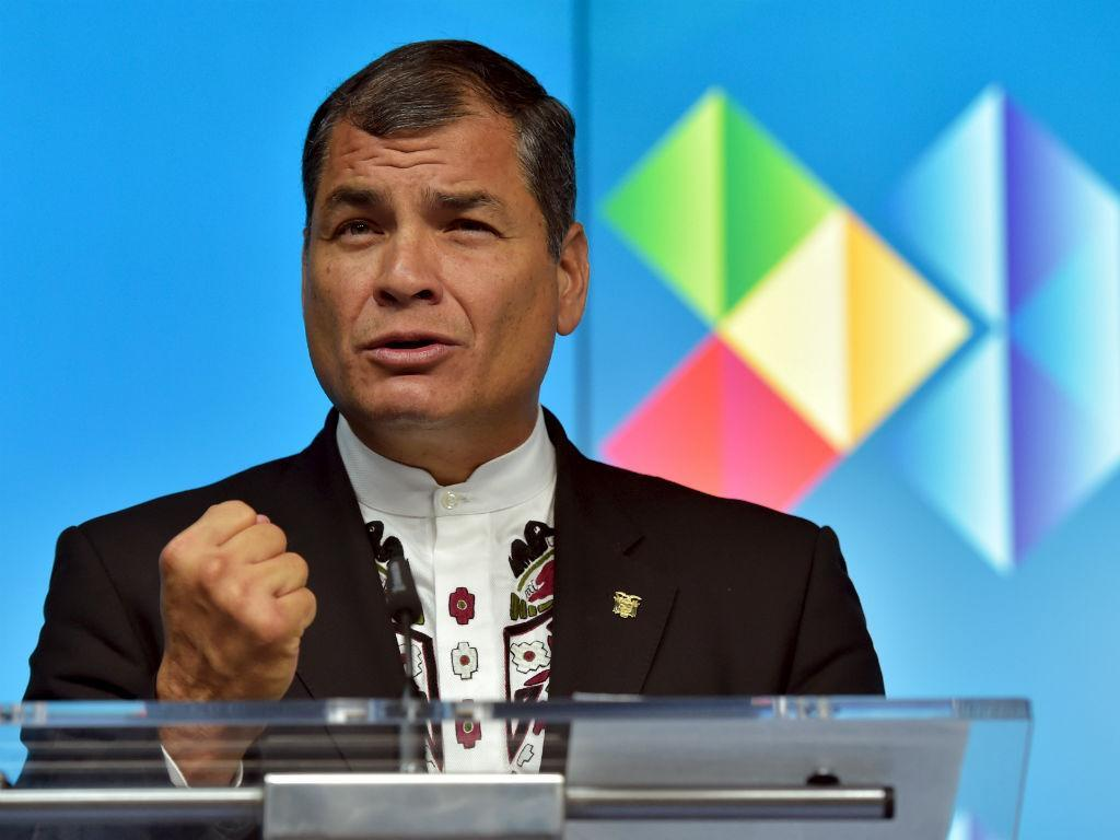 Rafael Correa, Presidente do Equador