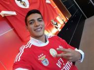 Raul Jimenez (Foto Twitter Benfica)
