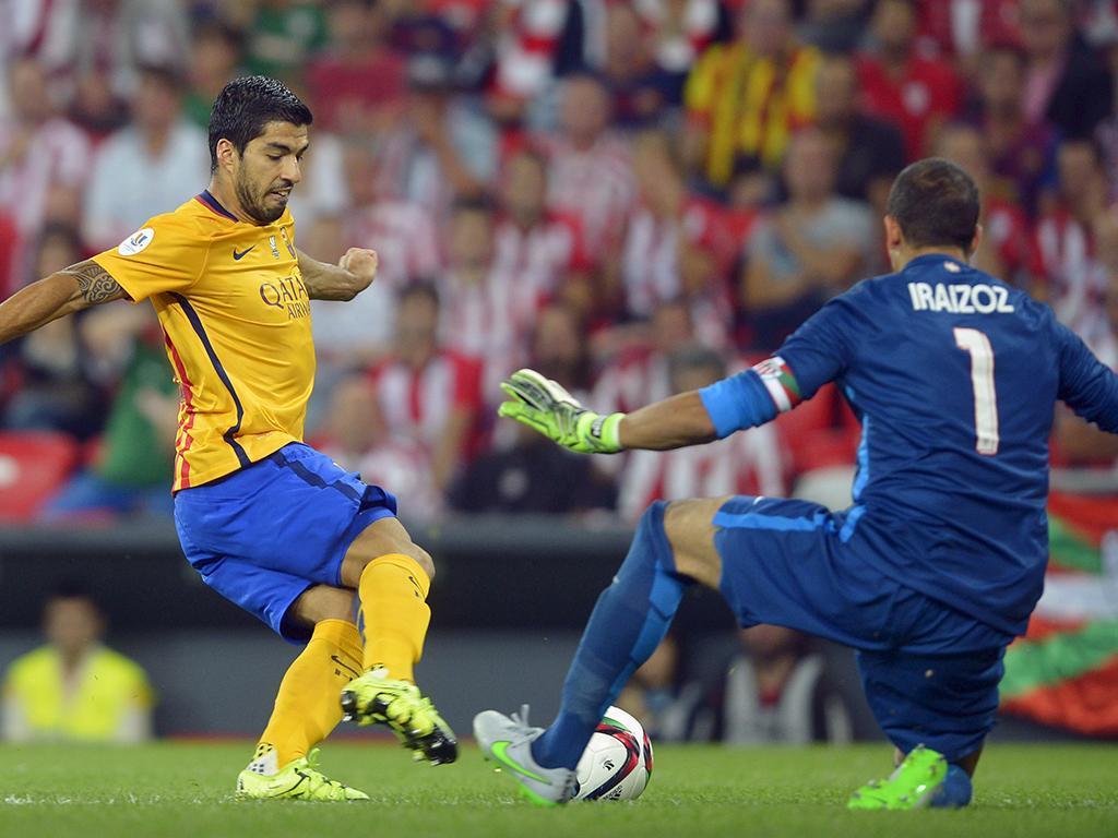 Athletic Bilbao-Barcelona (REUTERS/ Vincent West)