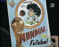 Do baú do Madureira: caderneta de cromos com caricaturas do Mundial-82