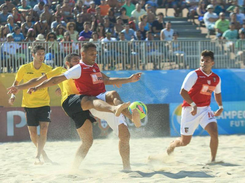 Sp. Braga campeão futebol praia