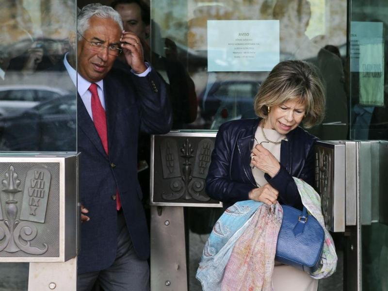António Costa e Maria de Belém [Foto: Lusa]