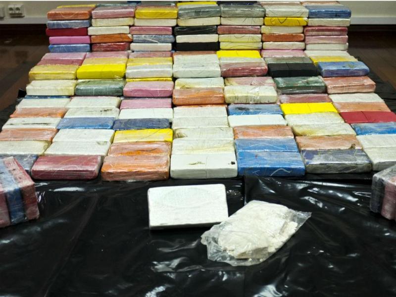 PJ apreende 327 quilos de cocaína