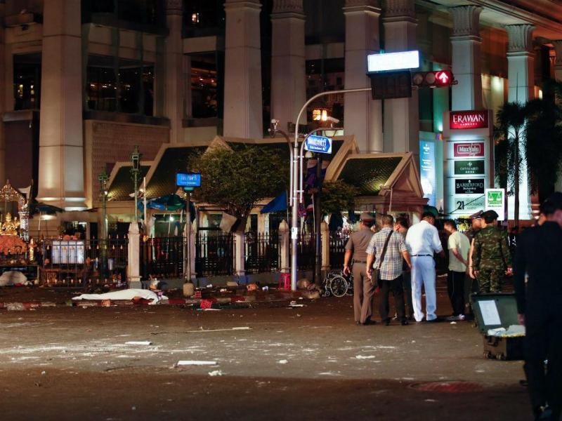 Explosão em Banguecoque [Fonte: Lusa]
