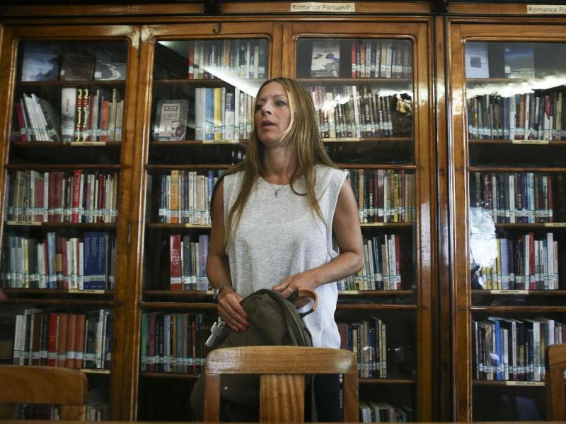 Joana Amaral Dias (MÁRIO CRUZ/LUSA)