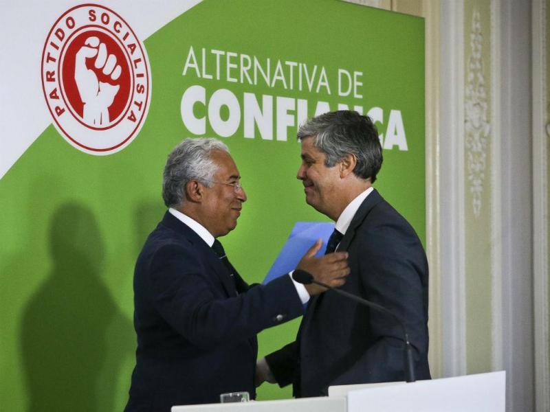 António Costa e Mário Centeno [Foto: Lusa]