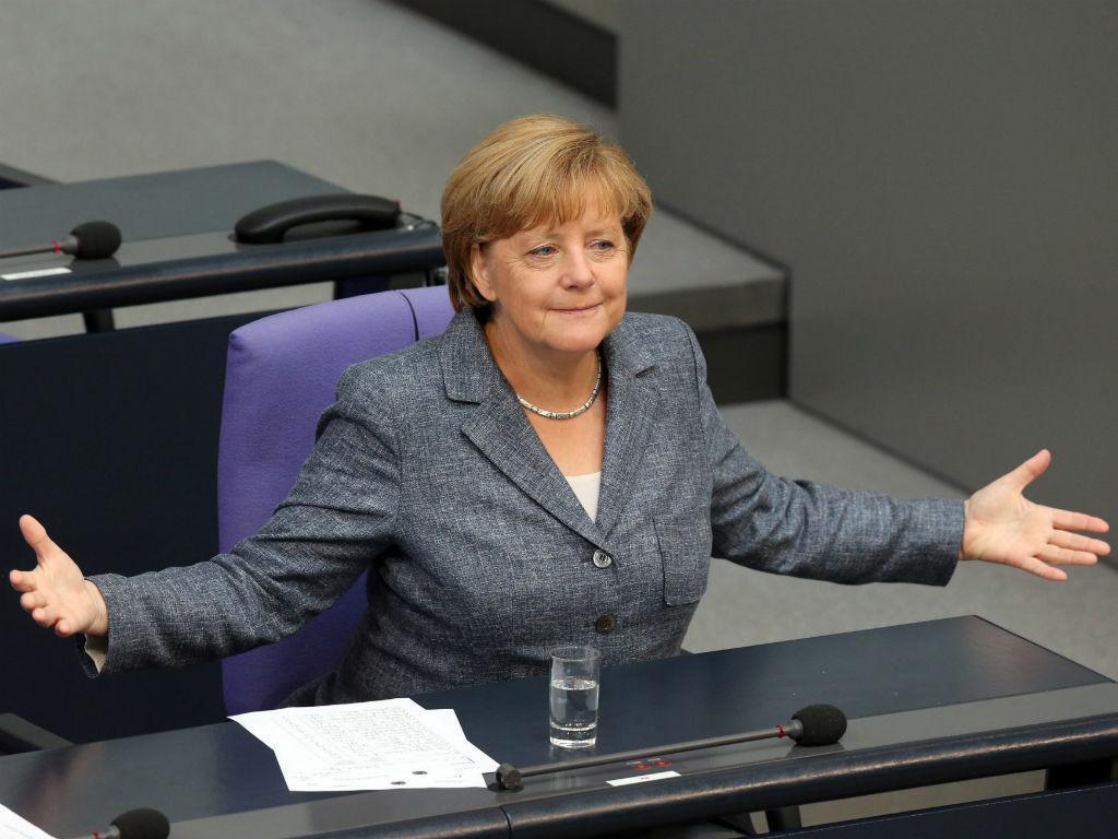 Angela Merkel (Lusa/EPA/WOLFGANG KUMM)
