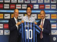 Itália: Jovetic é o novo 10 do Inter (foto Inter Milão)