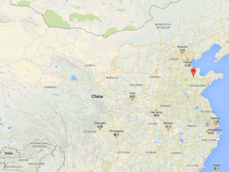 Shandong, China (Google Maps)