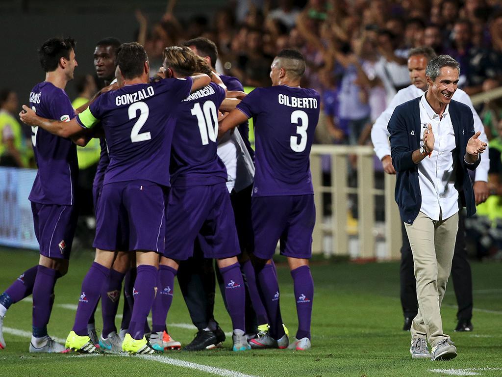 Fiorentina-Milan (REUTERS/Alessandro Bianchi)