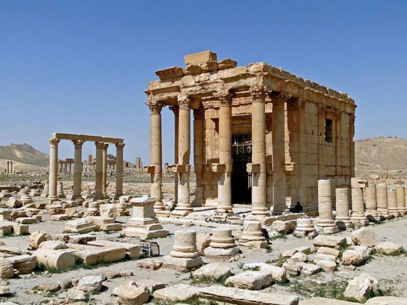Templo de Baal Shamin (Wikipédia/Bernard Gagnon)