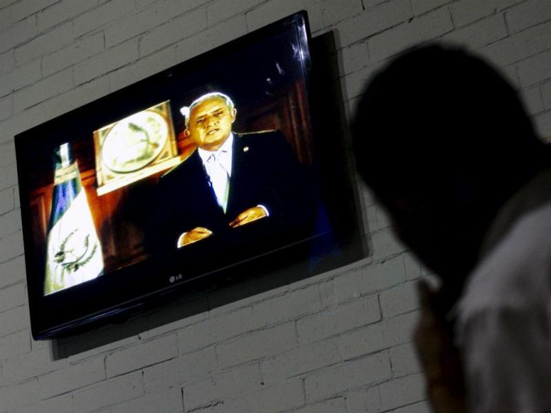 Presidente da Guatemala, Otto Pérez Molina (Reuters)