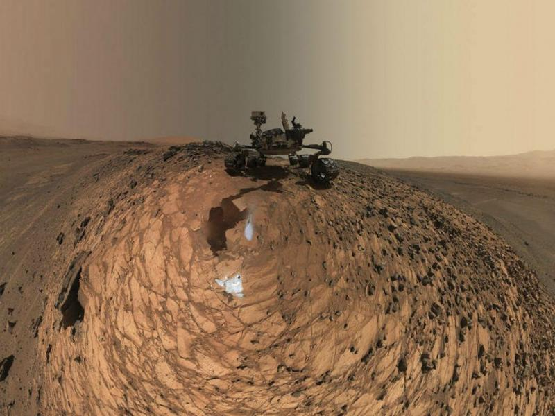 Curiosity (Lusa/EPA)