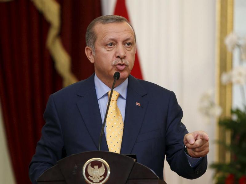 Presidente da Turquia, Recep Tayyip Erdogan [Fonte: Reuters]