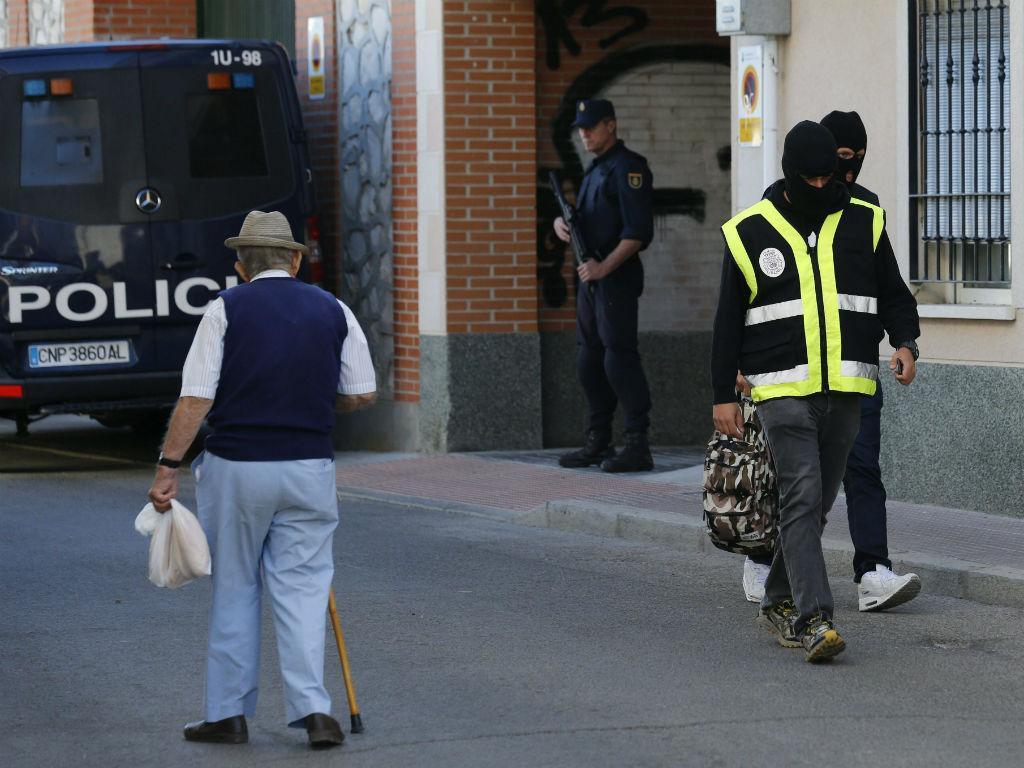 Estado Islâmico: desmantelada rede em Espanha e Marrocos (Lusa/EPA)