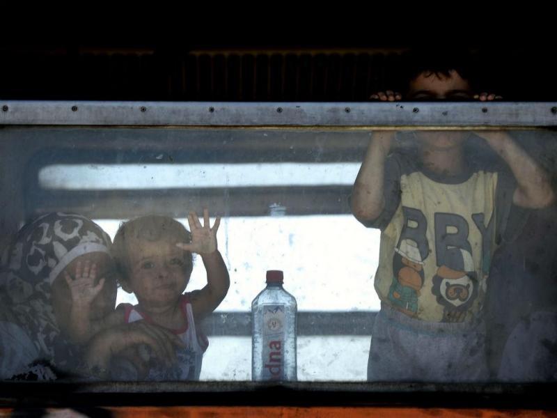 Macedónia, a porta dos refugiados sírios para a Europa (EPA/Lusa)