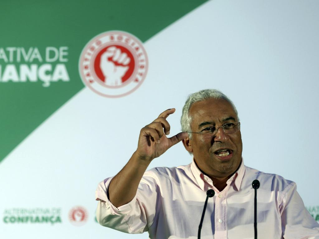 António Costa (Lusa/Manuel de Almeida)
