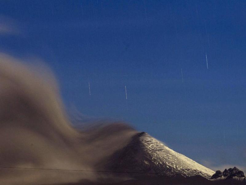 Vulcão Cotopaxi (Lusa/EPA)