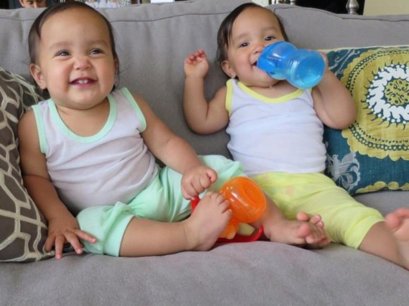 Miya e Keira [Foto: Facebook]