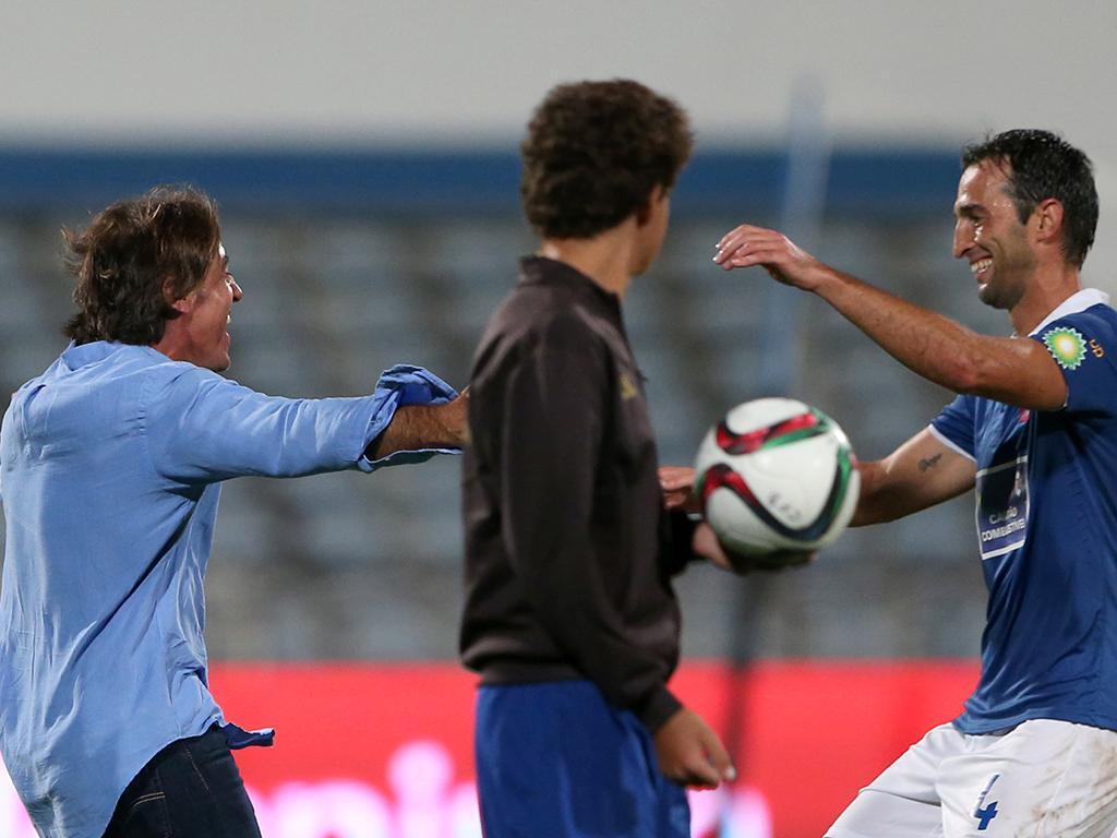 Liga Europa: Belenenses vs Altach (EPA)