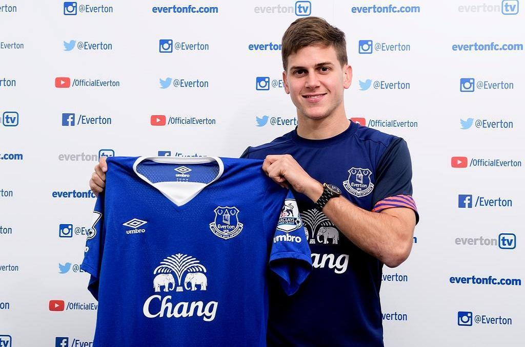 Inglaterra: Everton contrata Leandro Rodriguez (Fotografia Everton)