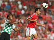 Benfica-Moreirense (LUSA/ Manuel de Almeida)