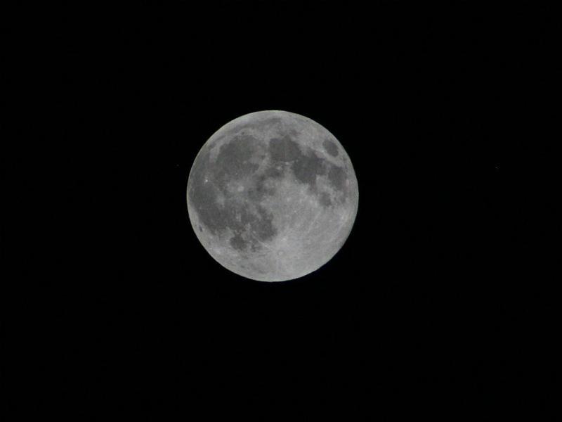 Super Lua no Porto [Foto: Paulo Madureira]