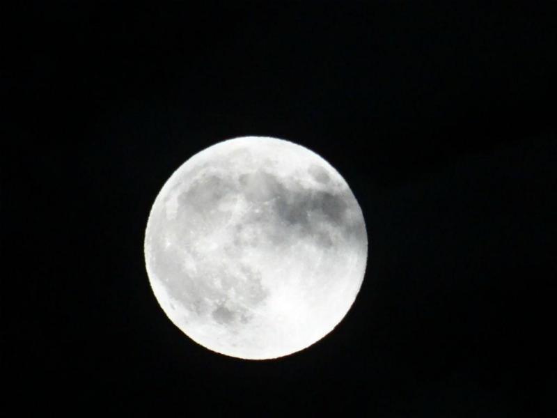 Super Lua em Quarteira [Foto: Ângelo Oliveira]