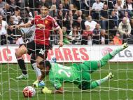 Swansea-Manchester United (Reuters/ Rebecca Naden)