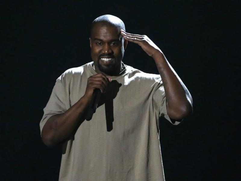 Kanye West nos Prémios MTV [Reuters]