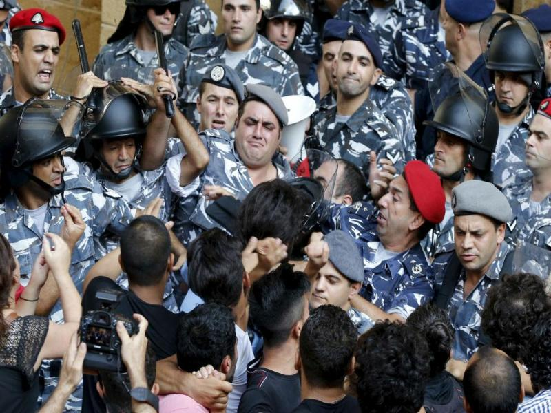 Confrontos na Líbano [Foto: Reuters]