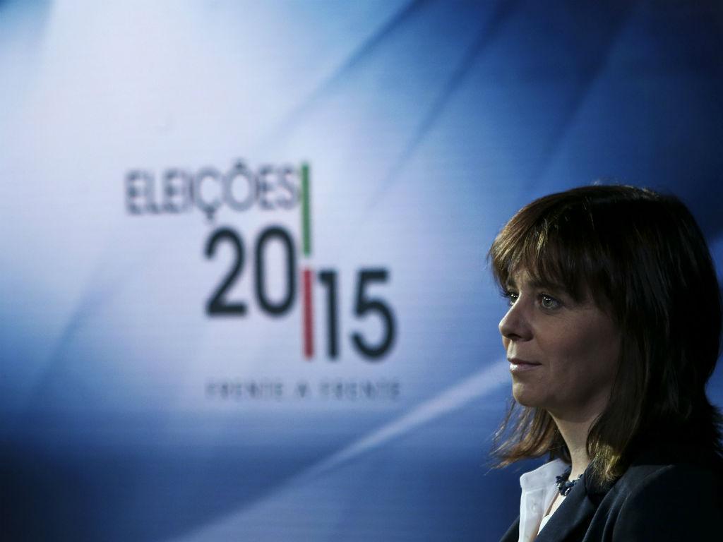Catarina Martins (JOSÉ SENA GOULÃO/LUSA)