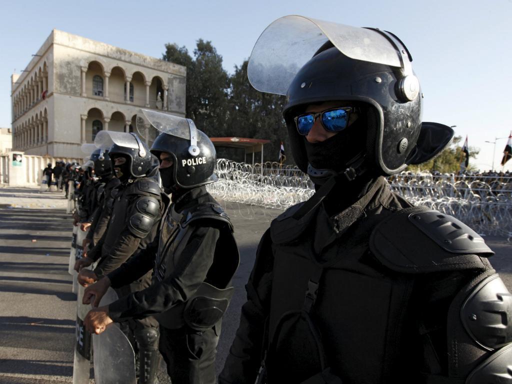 Polícia de Bagdad [Reuters]