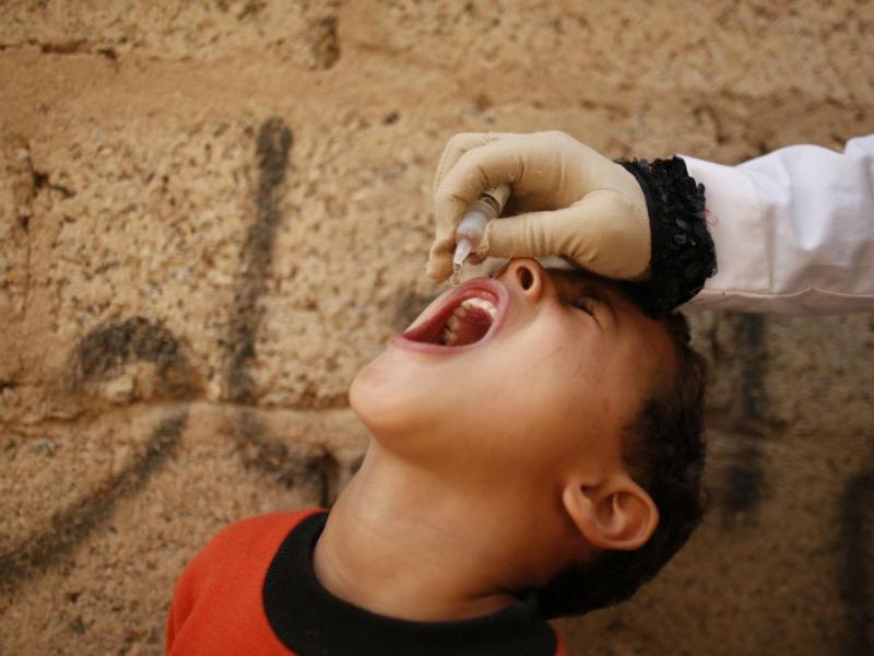 Novo surto de poliomielite [Foto: Reuters]