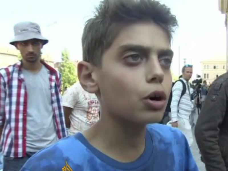 Palavras de criança síria emocionam Internet (Reprodução Twitter)
