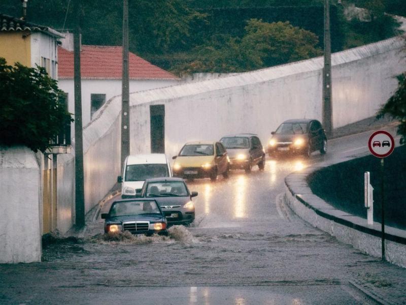 Mau tempo nos Açores [Foto: Lusa]