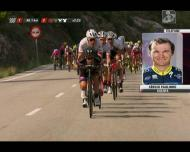 Sérgio Paulinho explica acidente com mota que o tirou da Vuelta