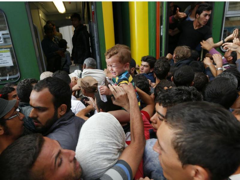 Estação de comboios de Budapeste, na Hungria - Setembro de 2015 ( REUTERS/Laszlo Balogh)