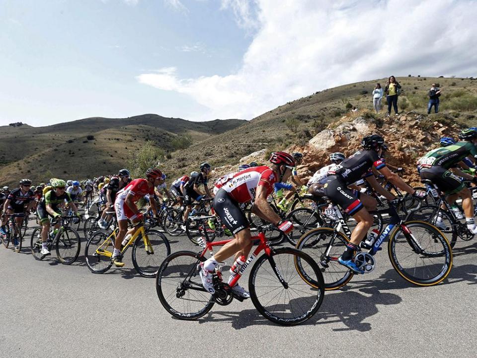 Vuelta: Valverde vence etapa, Miguel Ángel López recupera a vermelha