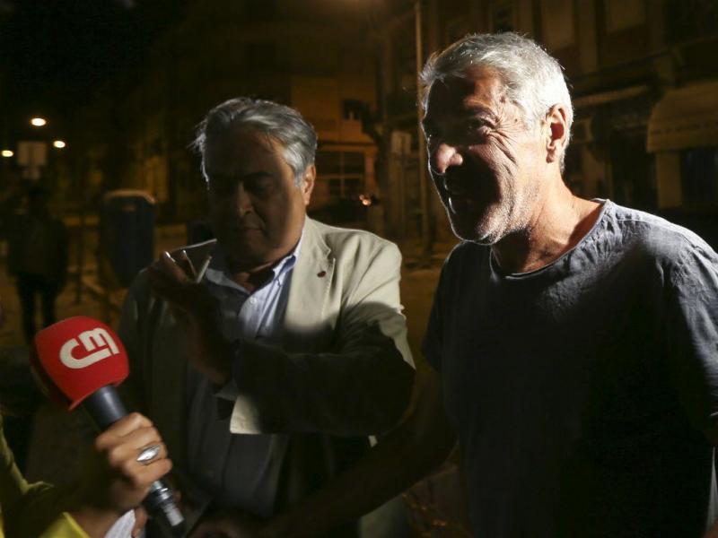 José Sócrates chega a casa [Foto: Lusa]