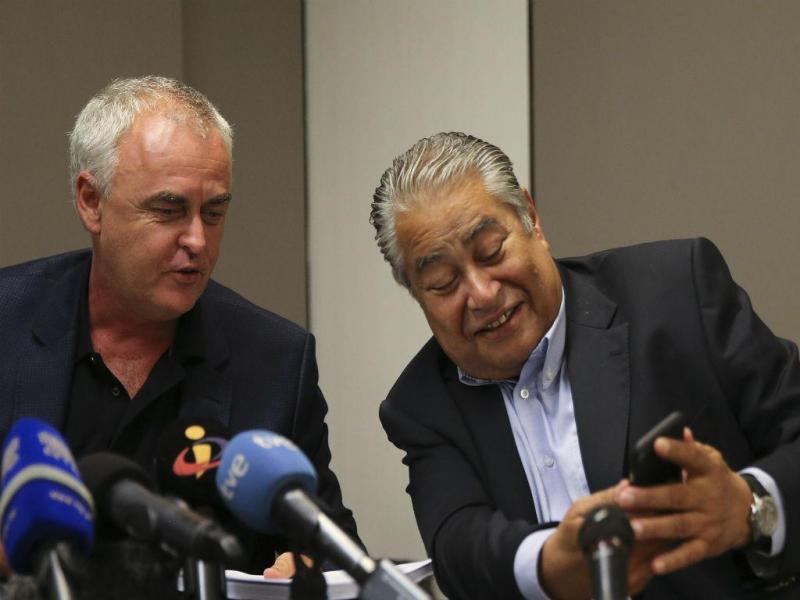 Pedro Delile e João Araújo [Foto: Lusa]