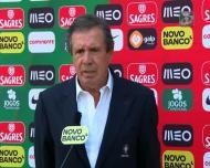 Humberto Coelho: «O jogo importante é o jogo da Albânia»