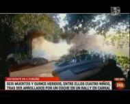São já sete as vítimas mortais do acidente no rali da Corunha