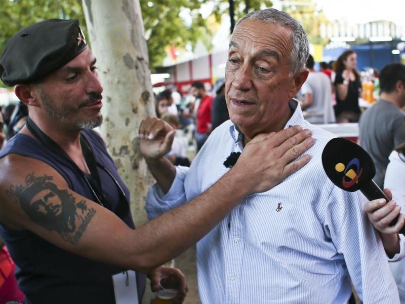 Marcelo Rebelo de Sousa marca presença na Festa do Avante
