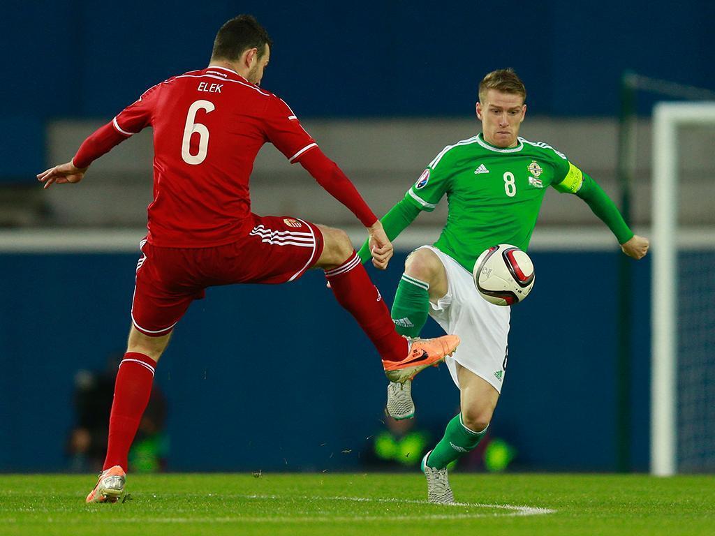 Irlanda do Norte-Hungria (Reuters/ Jason Cairnduff)