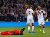 Escócia-Alemanha (Reuters/ Russell Cheyne)