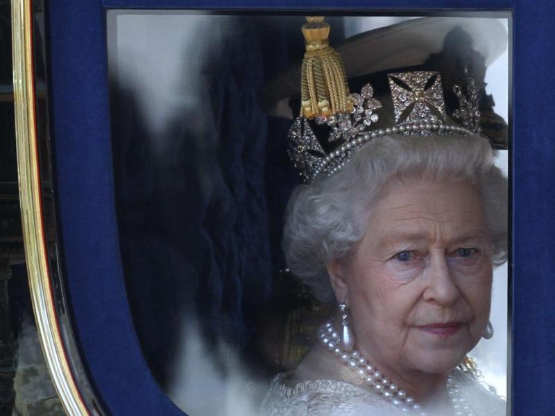 Rainha Isabel II [Reuters]