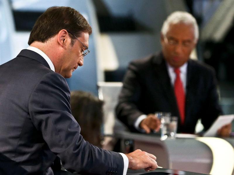 Debate António Costa vs Pedro Passos Coelho (LUSA)